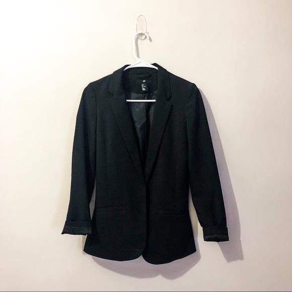 H&M Jackets & Blazers - Black blazer